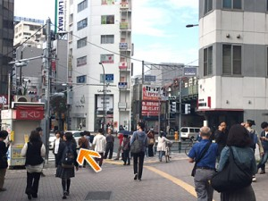 恵比寿駅前交差点